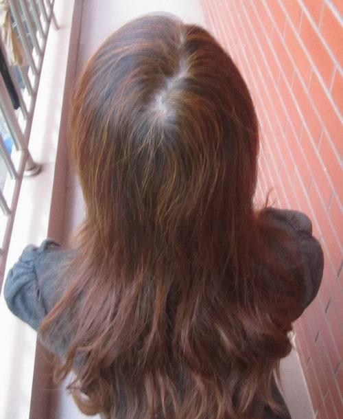 海娜粉染发剂 咖啡色图片